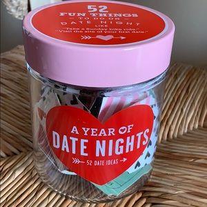 Rae Dunn Other - (3) Date Night Lot including Rae Dunn Jar